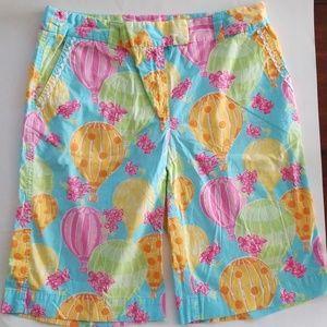 Lily Pulitzer hot air balloon Bermuda shorts 8